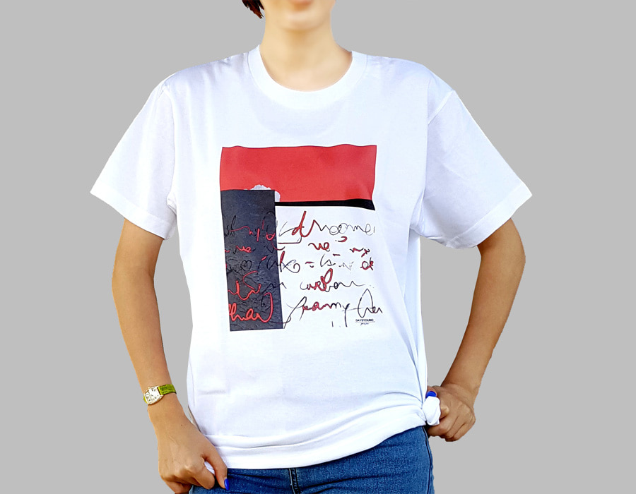 Cotton shirts, art colabo products, digital printing,  women's luxury shirts, summer half-sleeved shirts.